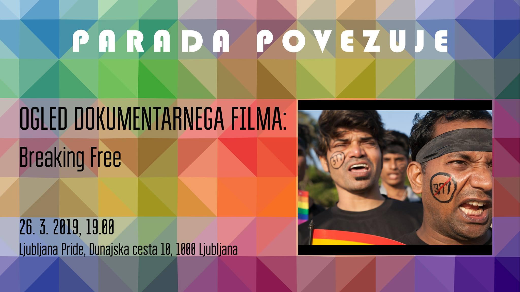 Parada povezuje // Ogled dokumentarnega filma