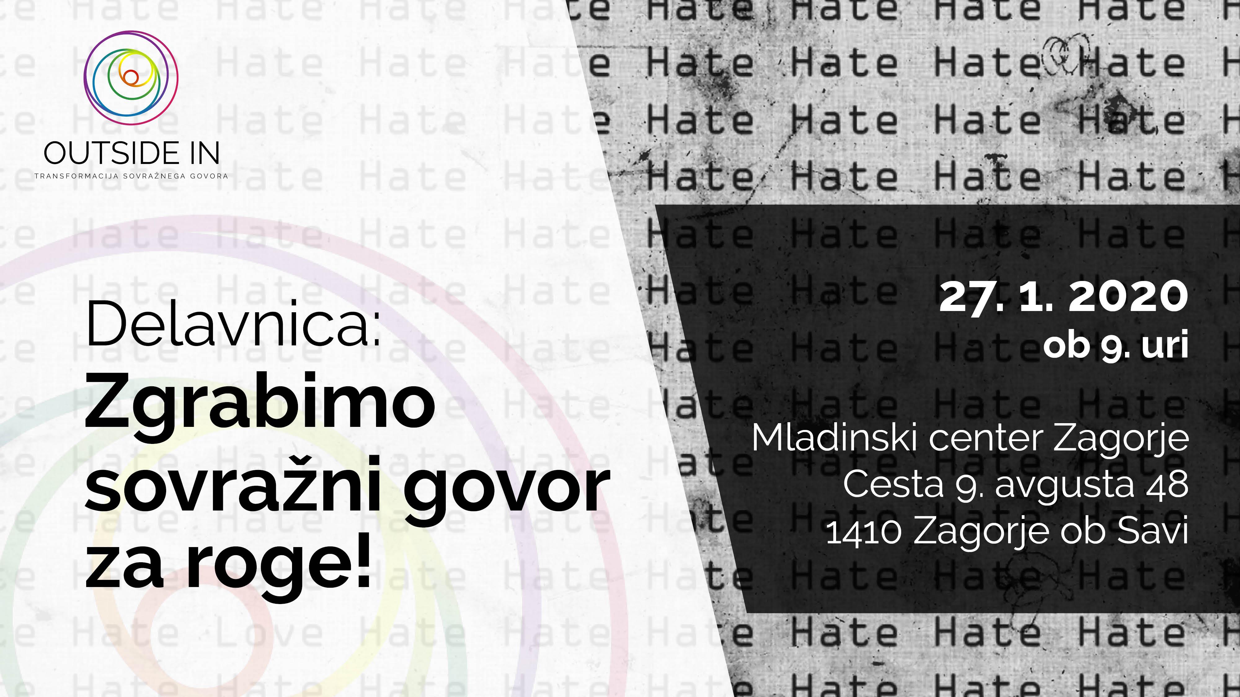 Workshop: Let's tackle Hate Speech!