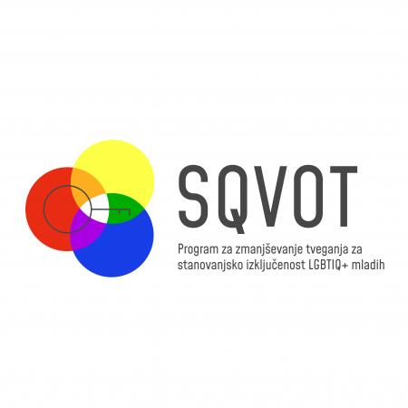 SQVOT – program za zmanjševanje tveganja za stanovanjsko izključenost LGBTIQ+ mladih